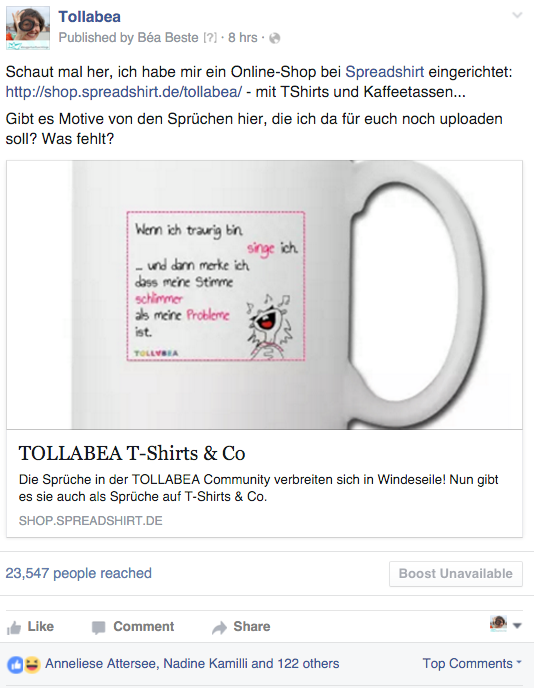 Facebook_post_tollabea_spradshirt